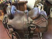 Custom Calvin Allen Cutting Saddle